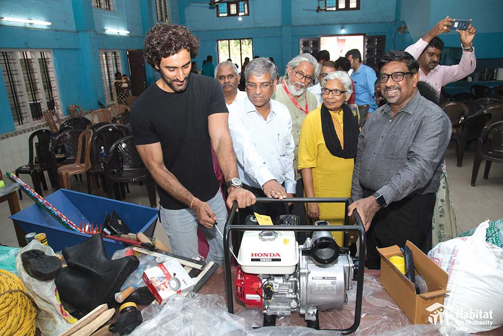 Kunal Kapoor launches Habitat Tools Bank